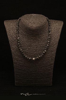 Edelstein-Halskette, Onyx