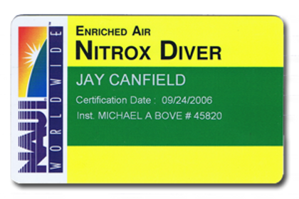 Nitrox Diver - Group (minimum 4 divers)