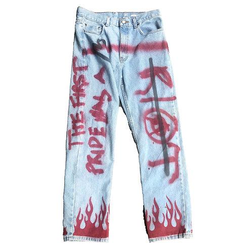 Pride Was A Riot Jeans