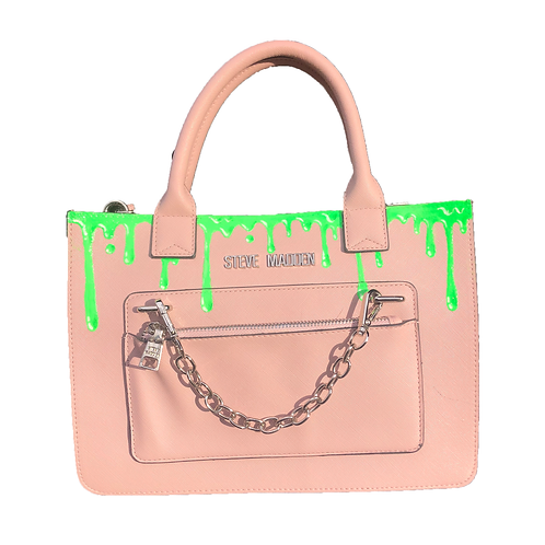 'Slime' Drip Bag Pink