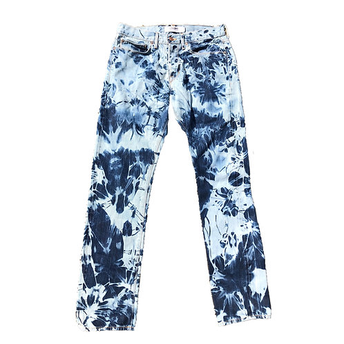 """""""Trapped"""" Denim Jeans"""