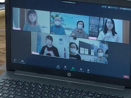 武蔵野大学手話サークルと、手話歌の交流会しました。