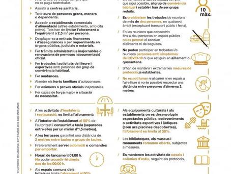 Mesures exepcionals als municipis de Granollers, Canovelles i les Franqueses del Vallès