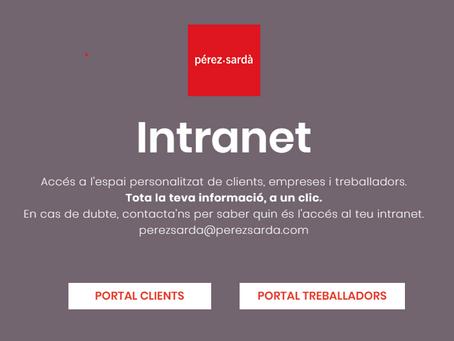 Coneixes la Intranet de Pérez Sardà?