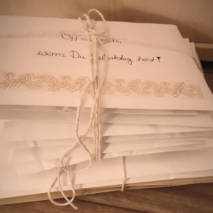 Ein Geschenk, dass vom Herzen kommt: Öffne mich, wenn ... - Briefe