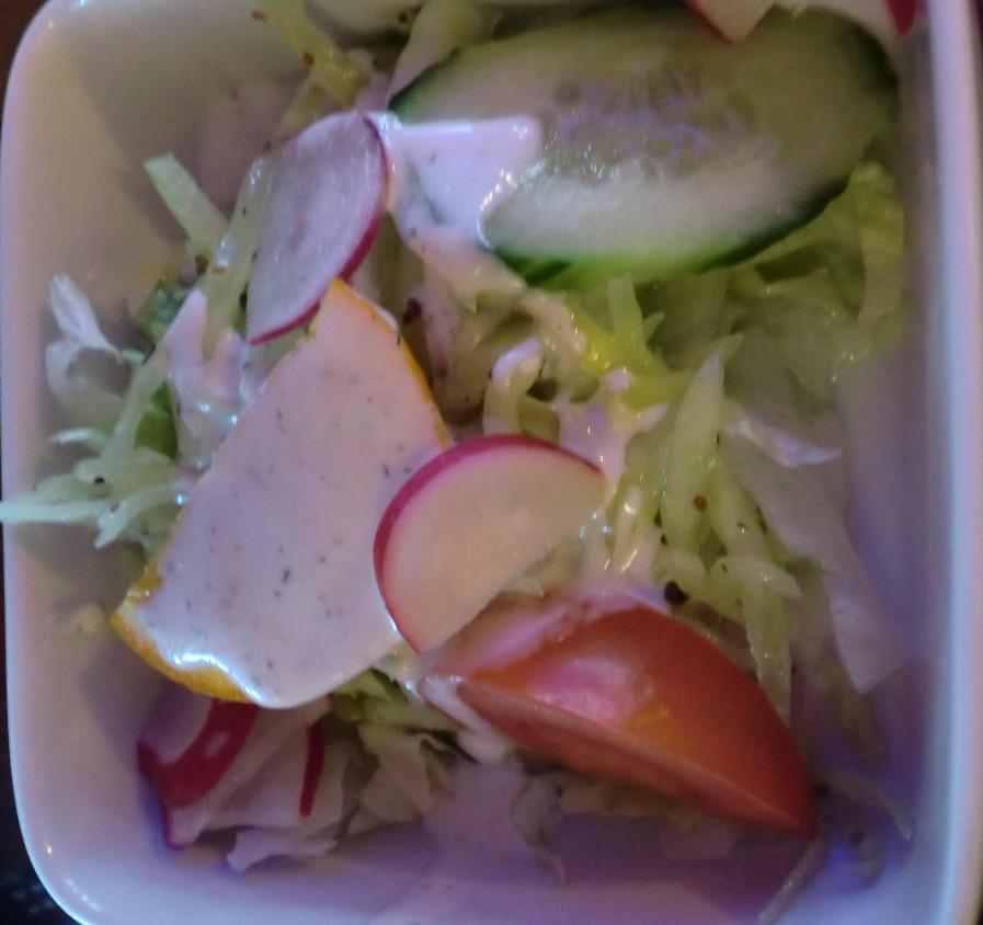 ein kleiner Beilagensalat