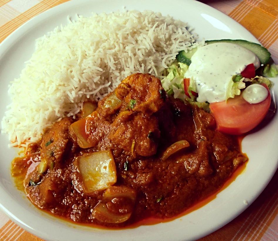Hühnerfleisch - Curry