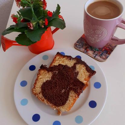 #bleibzuhause - Special: Marmorkuchen selbstgemacht - Grundrezept (17)