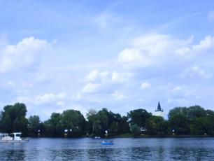 Ein Sommerausflug in den Treptower Park