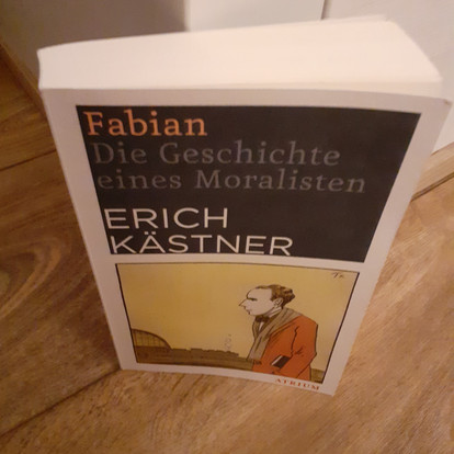 #WinterZuhause: Fabian von Erich Kästner (2)