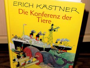 Noch einmal Kind sein.... Meine Kinderliteratur - Reihe  Die Konferenz der Tiere (7)