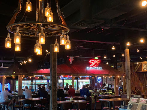 Inside atmosphere of our Wild Bill's Fargo location