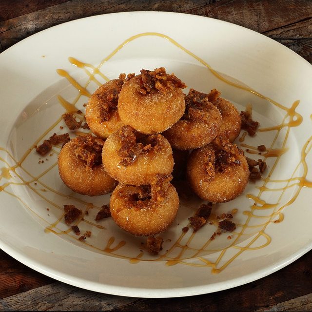 Candied Bacon Donuts
