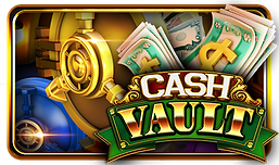 Cash Vault Logo for an electronic pull tab game