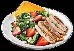 Strawberry Goat Salad