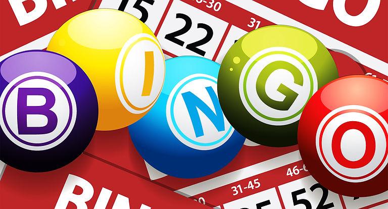 Bingo ball graphic