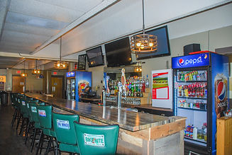 The Lakes bar counter