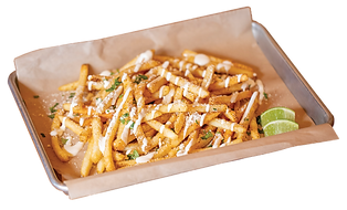 Elote Street Fries
