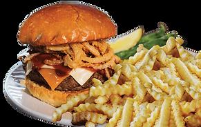 Root Beer BBQ Burger