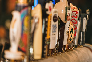 We offer a great array of beers on tap.
