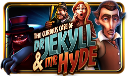 The Curious Case Of Dr. Jekyll & Mr. Hyde Logo for an electronic pull tab game