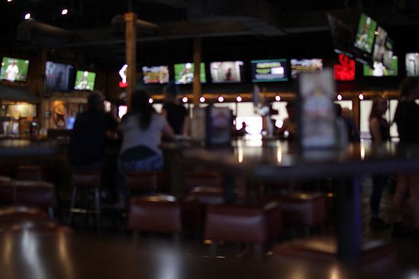 Faded scene inside our restaurant Wild Bill's Sports Saloon