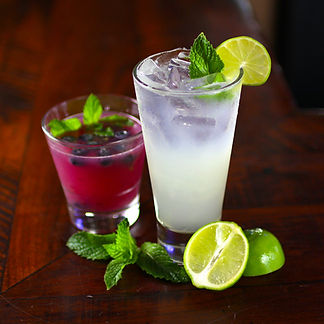 Blueberry Mojito and Key Lime Mojito