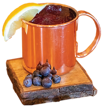 Blueberry Lemon Mule