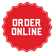 Please order online to order food for pick-up here.
