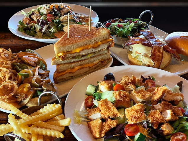 An array of our lunch combo options