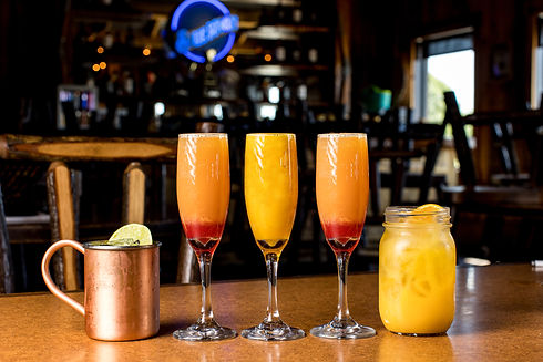Morning Mule, Mimosas and Screwdriver Drinks