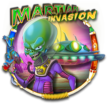 Martian Invasion Logo