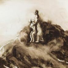 Le sacrifice d'Abraham, 2 , 125 x100, 2017.jpg