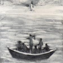Simon Pierre... se jeta à la mer, 125 x100 .jpg
