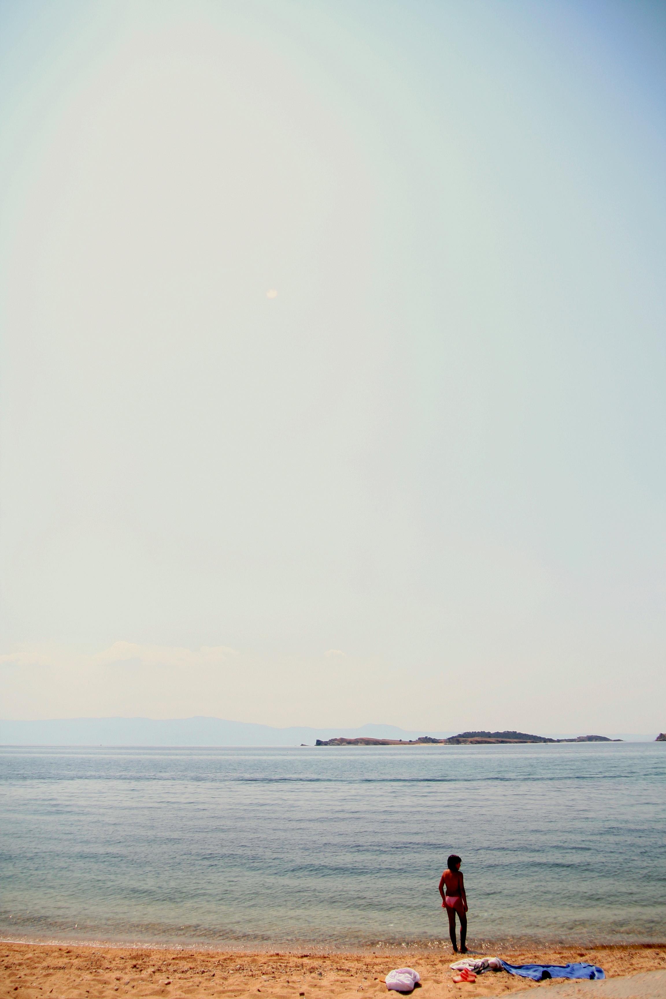 bleu d'ouranopolis