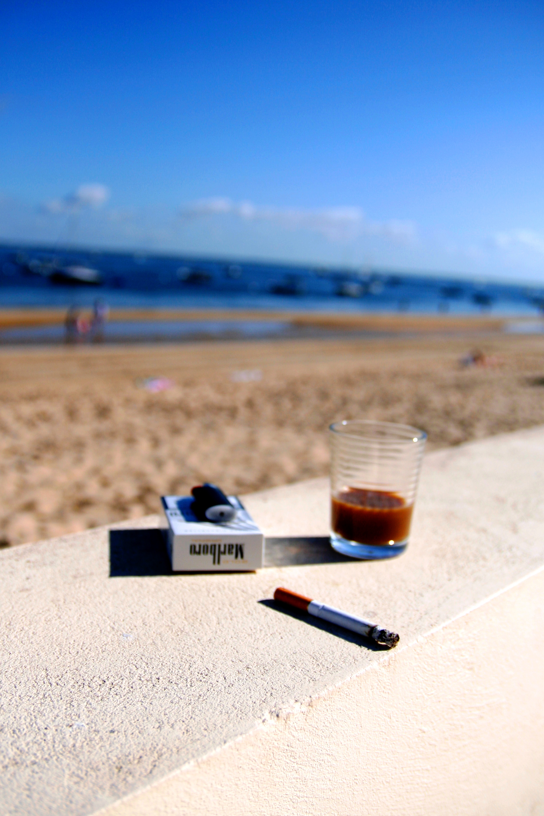 cigarette bleue