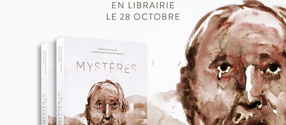 MYSTERES, à paraitre le 28 Octobre