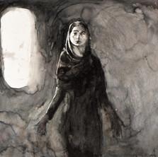 Marie-Madeleine, Femme, pourquoi pleures-tu ,100 x 125.jpg
