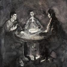 Emmaüs, le repas, 125 x 100.jpg