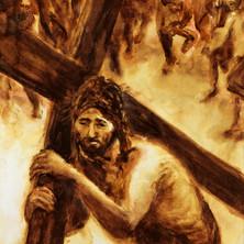 2 Jésus chargé de sa croix.jpg