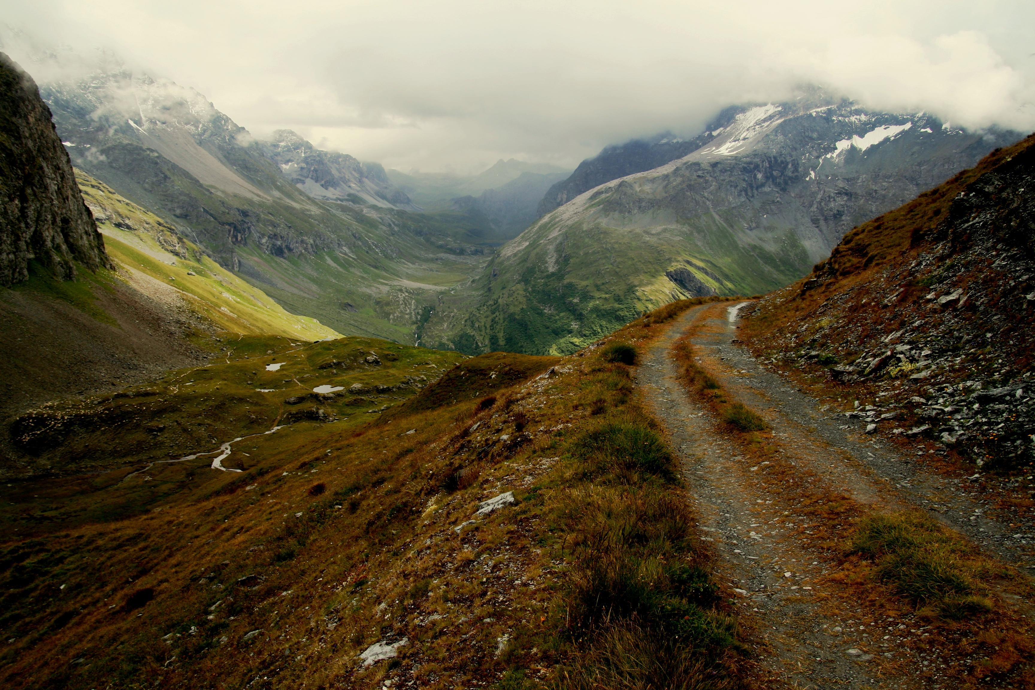 chemin refuge Mont Pourri
