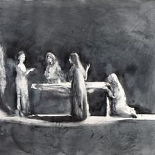 Femmes au tombeau, Celui que vous cherchez n'est plus ici100 x125.jpg