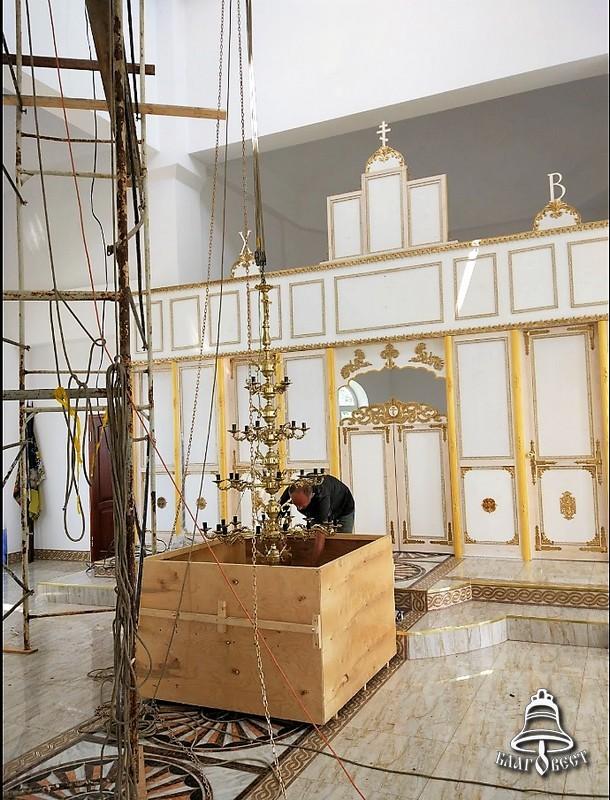 Храм Серафима Саровского, п.Энем