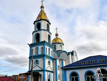 На территории Покровского храма г. Краснодара прошел фестиваль колокольного звона «Святочный перезво