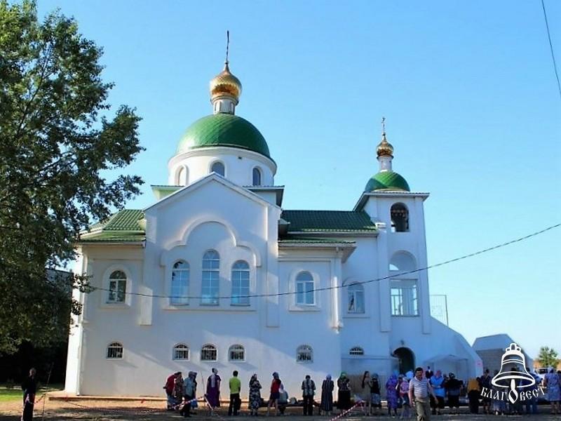 Храм Серафима Саровского, п.Энем (3)