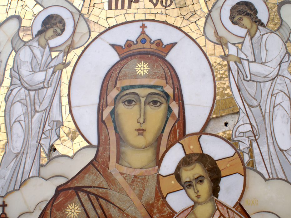 Храм иконы Божией Матери, п. Горный