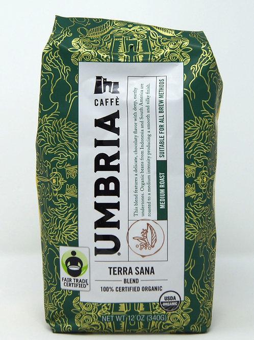 UMBRIA TERRA SANA COFFEE BEANS USDA ORGANIC
