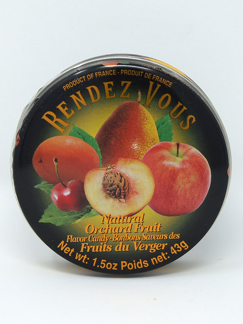 ORCHARD FRUIT HARD CANDIES
