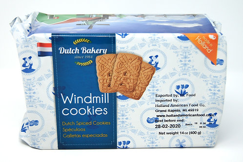 DUTCH BAKERY WINDMILL COOKIES