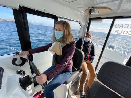 permis bateau frejus lucile